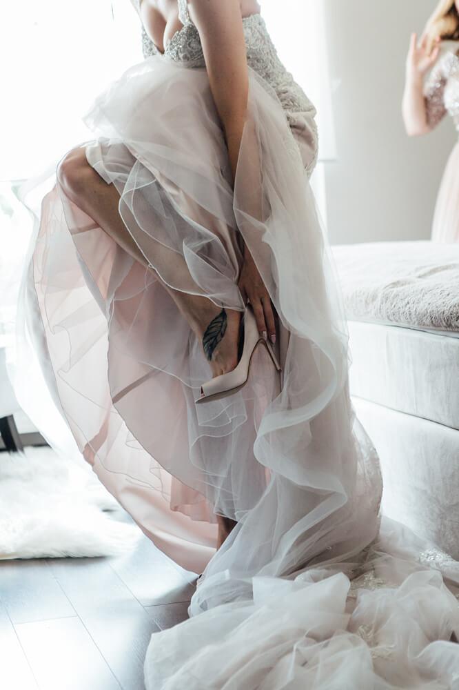 fotograf ślubny kraków suknia